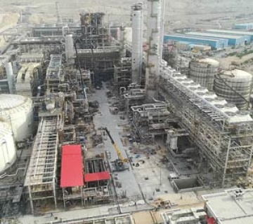 نصب استراکچر (PipeRack, Shelter, Cold Box, Reactor)